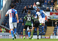 Blackburn Rovers' Ryan Nyambe<br /> <br /> Photographer Rachel Holborn/CameraSport<br /> <br /> The EFL Sky Bet League One - Blackburn Rovers v Doncaster Rovers - Saturday August 12th 2017 - Ewood Park - Blackburn<br /> <br /> World Copyright &copy; 2017 CameraSport. All rights reserved. 43 Linden Ave. Countesthorpe. Leicester. England. LE8 5PG - Tel: +44 (0) 116 277 4147 - admin@camerasport.com - www.camerasport.com