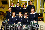 KERRY SCIENCE: Students from Presentation Tralee  who participated in the Senior science quiz at Tralee IT on Thursday evening pictured here are Front l-r Mary Fitzpatrick, Aine O'Sullivan, Erica O'Sullivan, Emer Sheehy, Nora O'Connell back l-r Emer Carroll, Andreea Gergely, Ciara Sookarry, Isabel Horgan