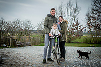 Sep Vanmarcke - photo shoot at home