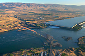 The Dalles Dam on Columbia River