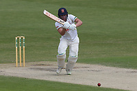 Daniel Lawrence hits 4 runs for Essex during Worcestershire CCC vs Essex CCC, Specsavers County Championship Division 1 Cricket at New Road on 13th May 2018