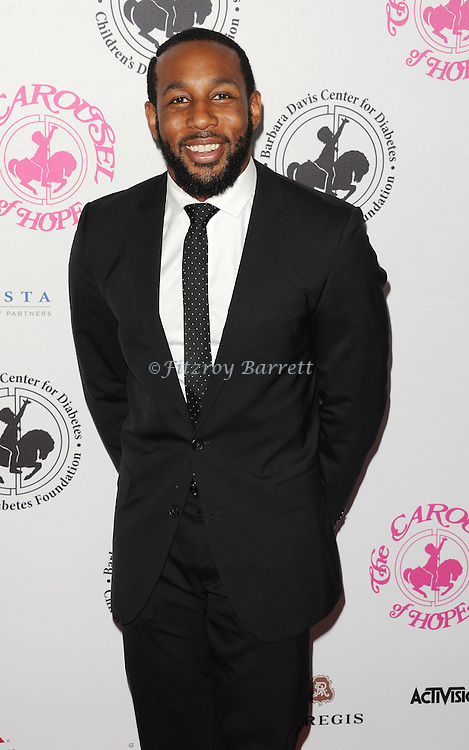 Stephen Boss aka Twitch arriving at The 2016 Carousel Of Hope Ball held at the Beverly Hilton Hotel Beverly Hills California October 8, 2016.