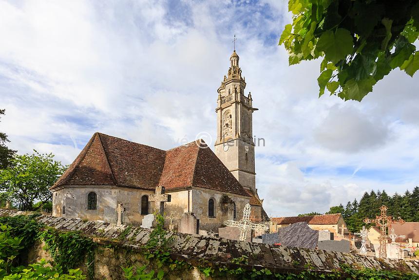 France, Orne (61), Loisail, église Saint-Martin // France, Orne, Loisail, church Saint Martin