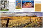 Published photography by Larry Angier..Murieta Country magazine photo spread