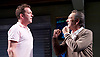 Prism <br /> by Terry Johnson <br /> at Hampstead Theatre, London, Great Britain <br /> press photocall <br /> 11th September 2017 <br /> Barnaby Kay as Mason<br /> Robert Lindsay as Jack Cardiff <br /> <br /> <br /> <br /> <br /> <br /> Designed by Tim Shortall<br /> Lighting by Ben Ormerod<br /> Sound by John Leonard <br /> Casting by Suzanne Crowley and Gilly Poole <br /> <br /> <br /> Photograph by Elliott Franks <br /> Image licensed to Elliott Franks Photography Services