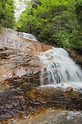 Zeacliff Pond Brook in the Pemigewasset Wilderness of Lincoln, New Hampshire during the spring months.