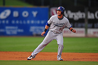 Andrew Lambo leads off second at Regions Park Birmingham, AL during the 2009 Southern League All Star Game (Photo by Tony Farlow/ Four Seam Images)