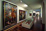 Colombia, Bogota, National Museum of Colombia, Paintings and Artifacts of General Santander, Liberator of Bogota from the Spanish, Biggest and Oldest Museum, Built in 1874, Prison until 1946
