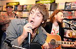 Pic Kenny Smith........ 17/05/2009.Paisley born singer song writer Paolo Nutini performed at HMV Kirkcaldy to celebrate the launch of his new single 'Candy' released today from his forthcoming album sunny Side up' which is released on the 1st June.