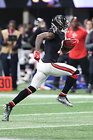 Atlanta Falcons wide receiver Julio Jones #11 during an NFL football game between the Tampa Bay Buccaneers and Atlanta Falcons, Sunday, Nov. 26, 2017 in Atlanta (Photo by Michael Zito/Panini)