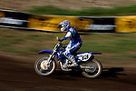 Heath Voss (13) competes on the course at the Unadilla Valley Sports Center in New Berlin, New York on July 16, 2006, during the AMA Toyota Motocross Championship.