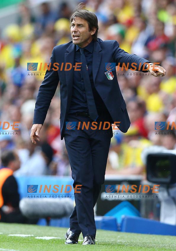 Italy head coach Antonio Conte allenatore <br />Toulouse 17-06-2016 Stade Velodrome Footballl Euro2016 Italy - Sweden  / Italia - Svezia Group Stage Group E. Foto Matteo Ciambelli / Insidefoto