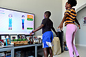 Virtual workout for home schooled Aimed Coronavirus (Covid-19) Pandemic Aimed Coronavirus (Covid-19)