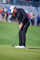 Charles Howell III (USA) watches his putt on 13 during round 4 of the World Golf Championships, Dell Technologies Match Play, Austin Country Club, Austin, Texas, USA. 3/25/2017.<br /> Picture: Golffile | Ken Murray<br /> <br /> <br /> All photo usage must carry mandatory copyright credit (&copy; Golffile | Ken Murray)