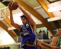 Kevin Owens takes a rebound during the NBL Round 14 match between the Manawatu Jets  and Wellington Saints. Arena Manawatu, Palmerston North, New Zealand on Saturday 31 May 2008. Photo: Dave Lintott / lintottphoto.co.nz
