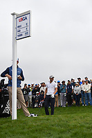 Martin Kaymer (GER) looks over his tee shot on 9 during round 1 of the 2019 US Open, Pebble Beach Golf Links, Monterrey, California, USA. 6/13/2019.<br /> Picture: Golffile | Ken Murray<br /> <br /> All photo usage must carry mandatory copyright credit (© Golffile | Ken Murray)
