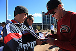 Arizona during the Spring Trainig 2013 in Sports Complex Salt River Fields at Talking Stick in Arizona. February 24, 2013