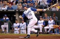 Royals third baseman Joe Randa in action against the Red Sox at Kauffman Stadium in Kansas City, Missouri on May 6, 2003. Boston won 7-3.