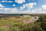 Olifants river, view from Olifants rest camp, Kruger national park, South Africa