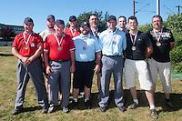 04 July 2010: Officials , little league, championnat Minimes Cadets, Ronchin, France.