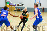 Tralee Warriors Keith Jumper against UCC Demons in the National Cup Quarter Final in the Tralee Sports Complex on Sunday