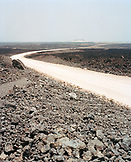 ERITREA, Dankalia, the endless road that connects Southern Assab to Massawa in the North
