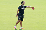 Getafe's second coach Javier Vidal during training session. August 3,2020.(ALTERPHOTOS/Acero)