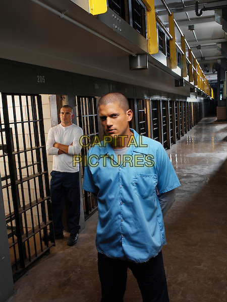 WENTWORTH MILLER & DOMINIC PURCELL.in Prison Break.*Editorial Use Only*.www.capitalpictures.com.sales@capitalpictures.com.Supplied by Capital Pictures.