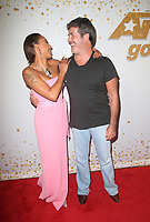 HOLLYWOOD, CA - SEPTEMBER 11:  Mel B and Simon Cowell at America&rsquo;s Got Talent Season 13 Live Show arrivals at The Dolby Theatre in Hollywood, California on September 11, 2018. <br /> CAP/MPIFS<br /> &copy;MPIFS/Capital Pictures