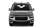 Car photography straight front view of a 2019 Citroen Berlingo Shine 5 Door MPV
