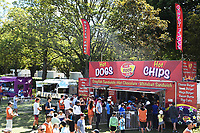 Food stalls during the 5th ODI Blackcaps v England. Hagley Oval, Christchurch, New Zealand. Saturday 10 March 2018. ©Copyright Photo: Chris Symes / www.photosport.nz