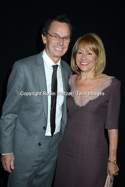 Rod Waywell and Lisa Dennison attends the 2013 Whitney Gala & Studio party honoring artist Ed Ruscha on October 23, 2013 at Skylight at Moynihan Station in New York City.