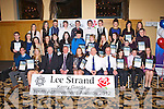 AWARDS: The Lee Strand Kerry Garda achievement awards winners at the Ballyroe Heights hotel, Tralee on Friday.