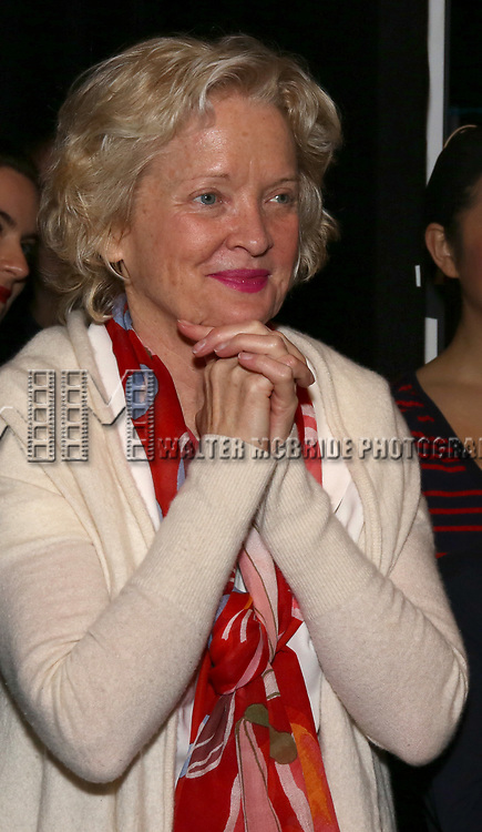 Christine Ebersole during the Actors' Equity Gypsy Robe honoring Joanna Glushak for 'War Paint' at the Nederlander Theatre on April 6, 2017 in New York City