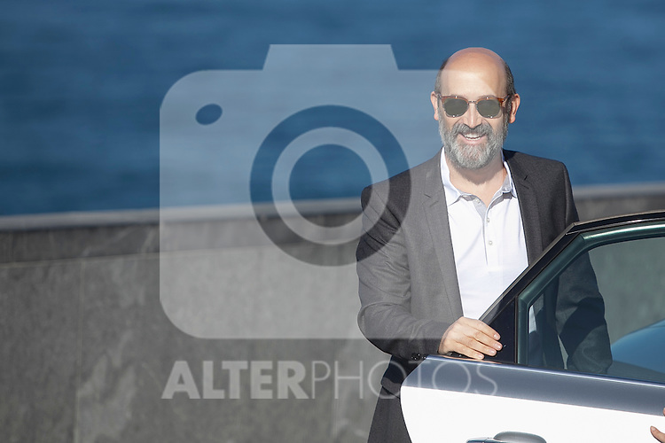 Spanish actor Javier Camara poses during the `Truman´ film presentation a 63rd Donostia Zinemaldia (San Sebastian International Film Festival) in San Sebastian, Spain. September 19, 2015. (ALTERPHOTOS/Victor Blanco)