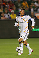 Los Angeles Galaxy midfielder (23) David Beckham during the SuperLiga finals between the Los Angeles Galaxy of MLS and CF Pachuca of FMF at the Home Depot Center, Carson, CA, on August 29, 2007. Pachuca wins 4-3 on penalty kicks after the game finished in a 1-1 tie.