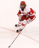Maddie Elia (BU - 14) - The Boston College Eagles defeated the Boston University Terriers 3-2 in the first round of the Beanpot on Monday, January 31, 2017, at Matthews Arena in Boston, Massachusetts.