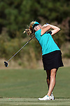16 October 2016: Rollins' Paige Lyle. The Final Round of the 2016 Ruth's Chris Tar Heel Invitational NCAA Women's Golf Tournament hosted by the University of North Carolina Tar Heels was held at the UNC Finley Golf Club in Chapel Hill, North Carolina.