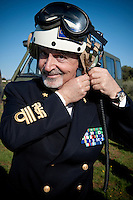ammiraglio di squadra Filippo Maria Foffi, comandante in Capo della Squadra Navale