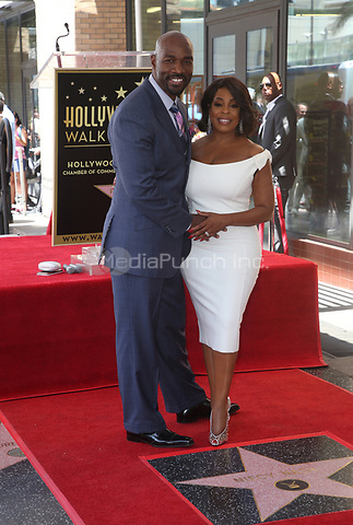 HOLLYWOOD, CA - JULY 11: Meredith Monroe, Niecy Nash, Jay Tucker, at Niecy Nash Honored With Star On The Hollywood Walk Of Fame in Hollywood, California on July 11, 2018. Credit: Faye Sadou/MediaPunch