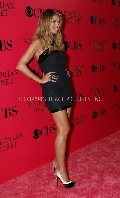 WWW.ACEPIXS.COM . . . . .  ....November 19 2009, New York City....Model Heidi Klum on the Pink Carpet at the Victoria's Secret Fashion Show at the Armoury on November 19 2009 in New York City....Please byline: NANCY RIVERA- ACEPIXS.COM.... *** ***..Ace Pictures, Inc:  ..Tel: 646 769 0430..e-mail: info@acepixs.com..web: http://www.acepixs.com