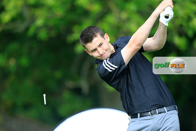 Jack Walsh (MU) at the final of the AIG Senior Cup at the AIG Cups &amp; Shields National Finals, Carton House, Maynooth, Co Kildare.<br /> Picture Golffile | Fran Caffrey