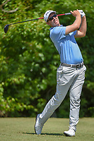 Seamus Power (IRL) watches his tee shot on 2 during Round 2 of the Zurich Classic of New Orl, TPC Louisiana, Avondale, Louisiana, USA. 4/27/2018.<br /> Picture: Golffile | Ken Murray<br /> <br /> <br /> All photo usage must carry mandatory copyright credit (&copy; Golffile | Ken Murray)