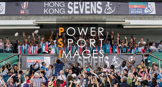 HSBC Hong Kong Rugby Sevens 2018 on 08 April 2018, in Hong Kong, Hong Kong. Photo by Yu Chun Christopher Wong / Power Sport Images