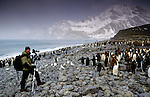 Photographer Art Wolfe on location, South Georgia Island