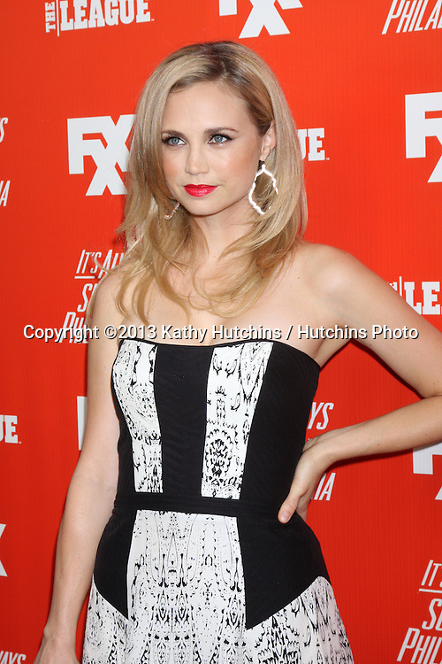 "LOS ANGELES - SEP 3:  Fiona Gubelmann at the FXX Network Launch Party And Premieres For ""It's Always Sunny In Philadelphia"" And ""The League"" at the Lure on September 3, 2013 in Los Angeles, CA"