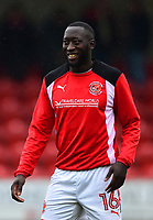 Fleetwood Town's Toumani Diagouraga looks on<br /> <br /> Photographer Richard Martin-Roberts/CameraSport<br /> <br /> The EFL Sky Bet League One - Fleetwood Town v Plymouth Argyle - Saturday 10th March 2018 - Highbury Stadium - Fleetwood<br /> <br /> World Copyright &copy; 2018 CameraSport. All rights reserved. 43 Linden Ave. Countesthorpe. Leicester. England. LE8 5PG - Tel: +44 (0) 116 277 4147 - admin@camerasport.com - www.camerasport.com