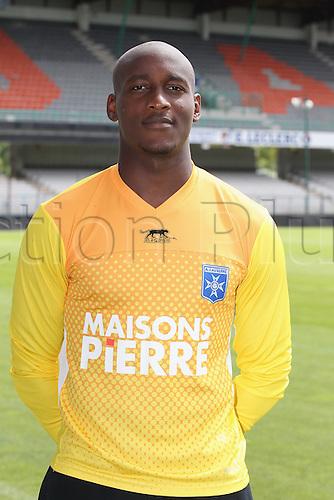 01.08.2013. Auxerre, France. Official Club photoshoot portait for season 2013-14.  (Auxerre)  Leon Donovan