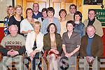 Party: Having a great evening on Friday in Stokers Lodge, Tralee, at her leaving party from Kerry Ingredients Listowel was Kate Bellchambers of Chutehall (seated front centre), along with fellow employees and friends..