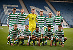 25.04.2019 Celtic v Rangers youth cup final: Rangers squad